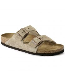 Women's Arizona Taupe Suede