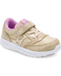 Little Kid's Saucony Baby Jazz Lite Gold Sparkle
