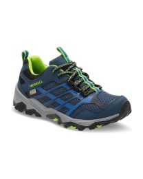Big Kid's Merrell Moab FST Lo Waterproof Navy / Blue