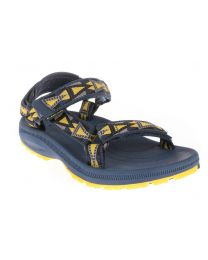 Big Kid's Teva Hurricane 2 Mosiac Navy / Yellow    4 - 7