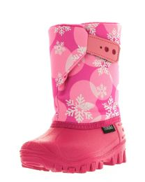 Girl's Tundra Teddy Pink Flakes