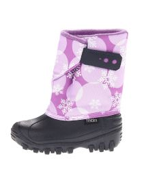 Girl's Tundra Teddy Plum Flakes