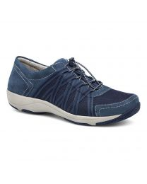 Women's Dansko Honor Blue Suede Leather