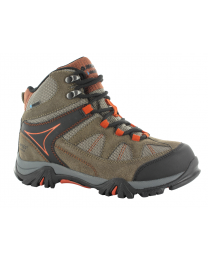 Kid's Hi-Tec Altitude Lite i Waterproof Jr Smoke Brown