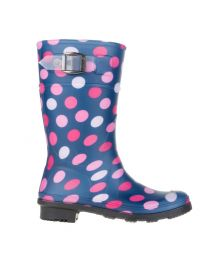 Kid's Kamik Dots Navy