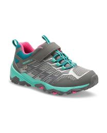 Kid's Merrell Moab FST Lo AC Waterproof Grey / multi