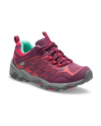 Kid's Merrell Moab FST Lo Waterproof Berry