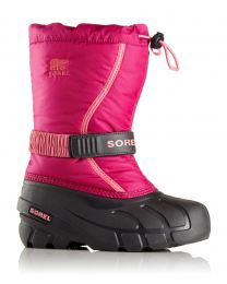 Big Kid's Sorel Flurry Deep Blush / Tropic Pink   1 - 6