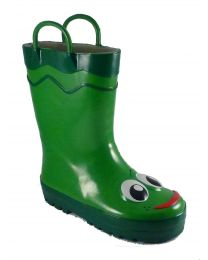 Kid's Western Chief Frog Rain Boot