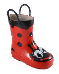 Kid's Western Chief Ladybug Rain Boot