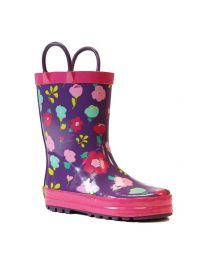 Kid's Western Chief Lovely Floral Rain Boot