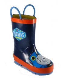 Kid's Western Chief Thomas Blue Engine Rain Boot