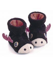 Little Kid's Acorn Easy Critter Bootie Moose