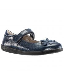 Little Kid's Nina Alani Navy Crystal Patent