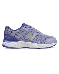 Kid's New Balance 680v5 Ice Violet / Twilight