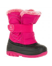 Little Kid's Kamik Snowbug Fur Rose