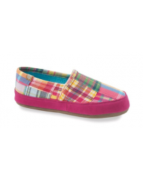Women's Acorn Summer Acorn Moc Bright Madras