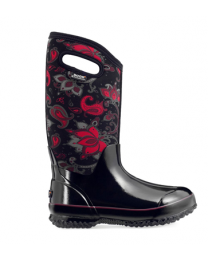 Women's Bogs Classic Paisley Floral Tall Black Multi