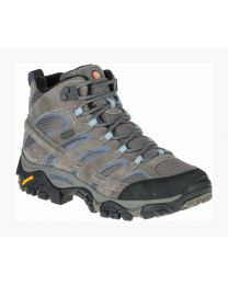 Women's Merrell Moab 2 Mid Waterproof Granite