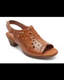 Women's Rockport Cobb Hill® Abbot High Vamp Sling tan