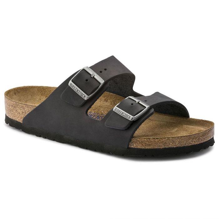 67627ea59da Men's Arizona Soft Footbed Black Oiled